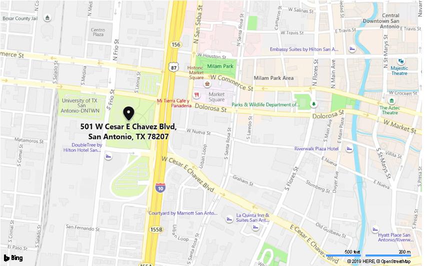 501 w cesar chavez blvd 78207 – Bing Maps
